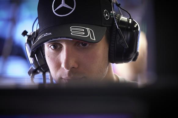 Esteban Ocon Mercedes F1 2019