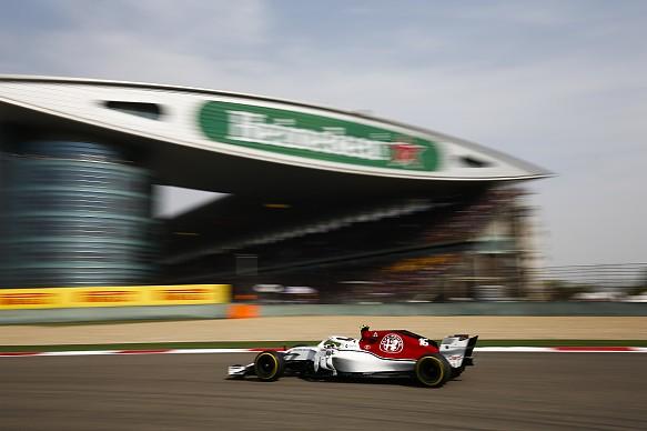 Charles Leclerc Sauber Chinese GP 2018