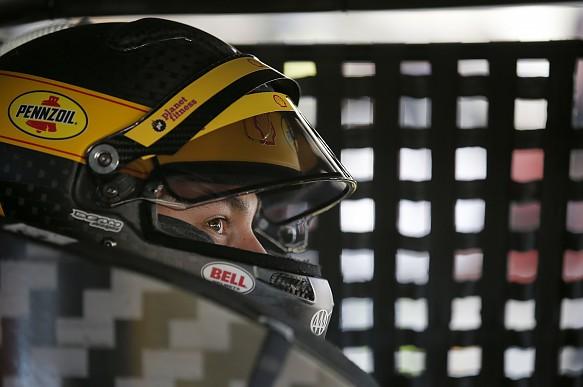 Joey Logano 2019 helmet NASCAR