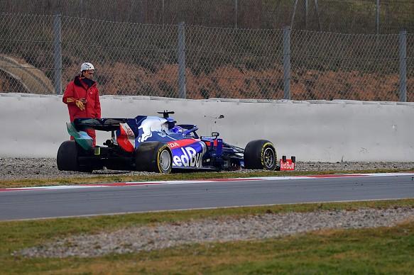 Alexander Albon Toro Rosso Barcelona F1 testing 2019