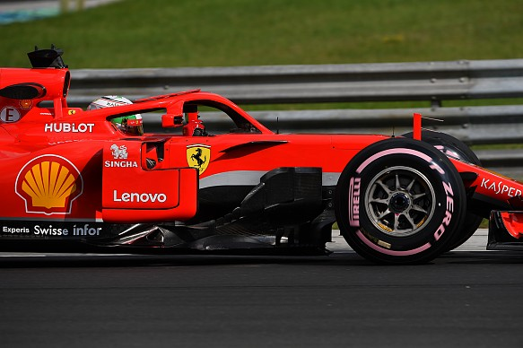 Antonio Giovinazzi Hungary 2018 test Ferrari