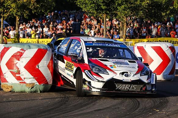 Ott Tanak Toyota WRC Germany 2018