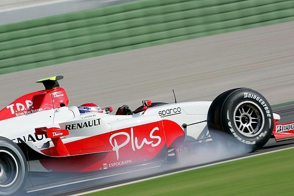 Nicolas Lapierre DAMS GP2 2006