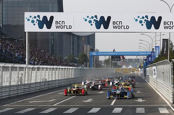 Formula E Beijing 2014