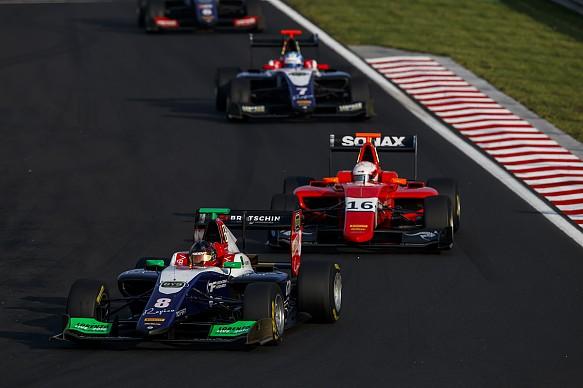 David Beckmann Trident Hungaroring GP3 2018
