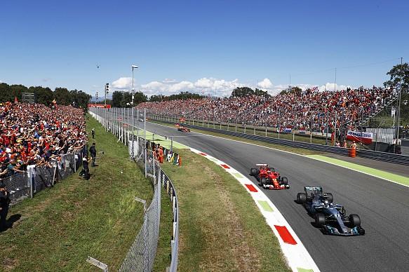 Bottas Raikkonen Italian Grand Prix 2017