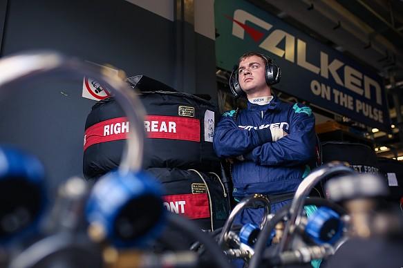 Falken Motorsports mechanic