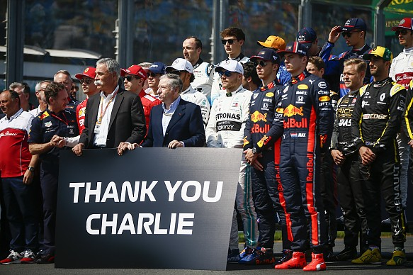 Charlie Whiting tribute