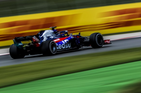 Brendon Hartley Toro Rosso Spanish GP 2018