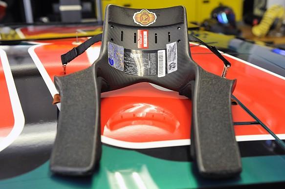 HANS device NASCAR 2010