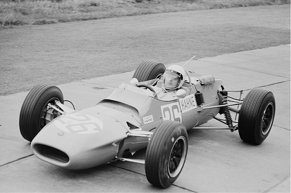 Hubert Hahne Matra MS5 BRM 1966