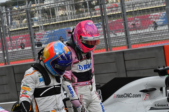 Fernando Alonso Esteban Ocon