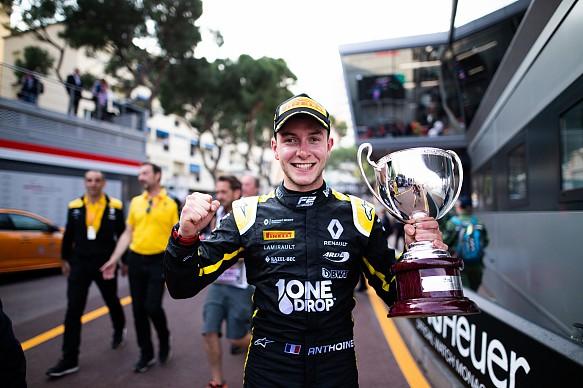 Hubert Monaco Arden F2 2019