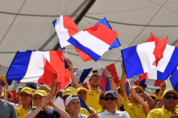 French GP fans 2018