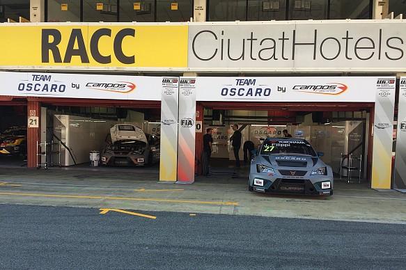 John Filippi Campos Racing WTCR testing Barcelona 2018