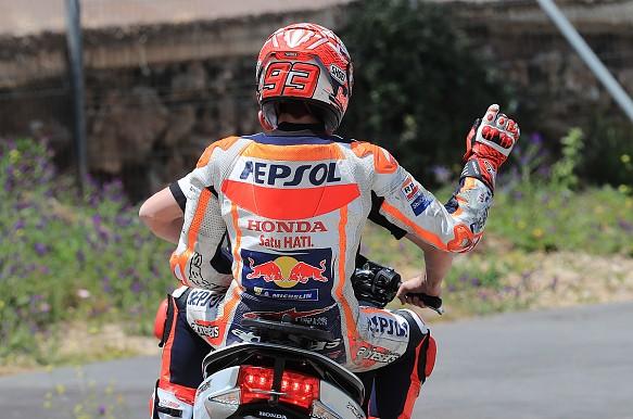 Marc Marquez crash Jerez MotoGP 2018