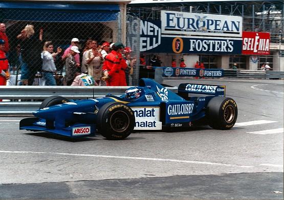Olivier Panis wins Monaco GP 1996