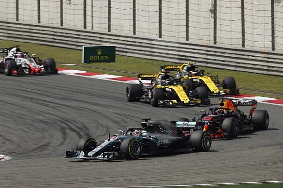 Lewis Hamilton Mercedes Chinese GP 2018
