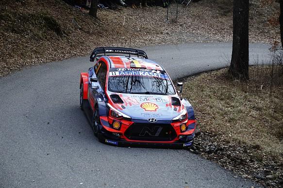 Neuville WRC Monte Carlo 2020