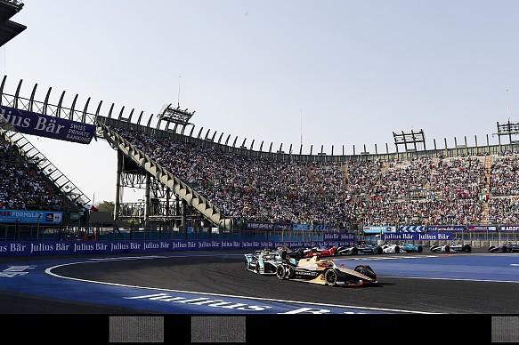 Jean-Eric Vergne leads Nelson Piquet Jr Mexico City Formula E 2019