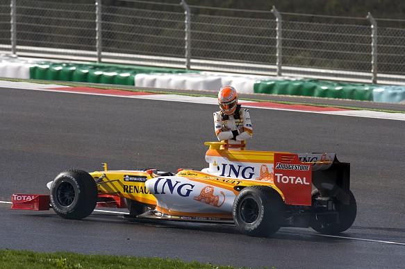 Nelson Piquet Jr Renault 2009