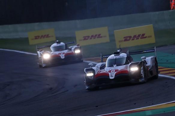 Fernando Alonso Toyota WEC Spa 2018