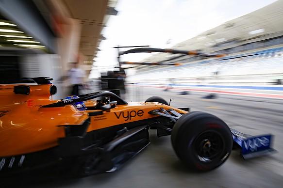 Fernando Alonso McLaren Bahrain F1 testing 2019