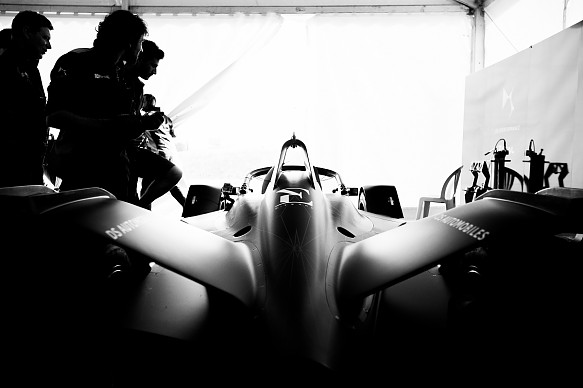 DS Formula E test