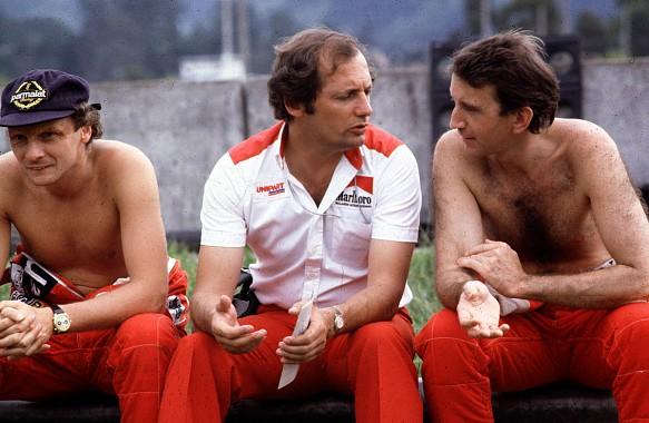 Lauda Watson Ron Dennis McLaren F1