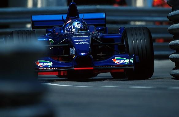 Jean Alesi Prost Monaco 2001