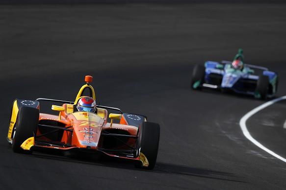 Zach Veach Andretti Autosport Honda IndyCar Indy 500