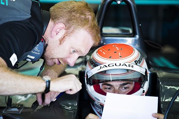 Nelson Piquet Jr. Jaguar Formula E