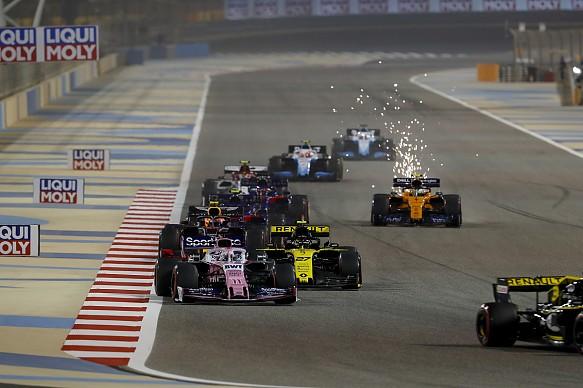 Lando Norris McLaren Bahrain GP F1 2019