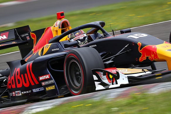 Dan Ticktum Super Formula Sugo 2019