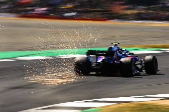 Pierre Gasly Toro Rosso British Grand Prix 2018