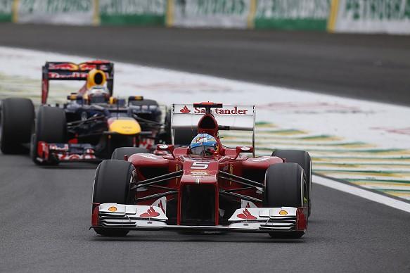 Alonso Vettel Brazil 2012