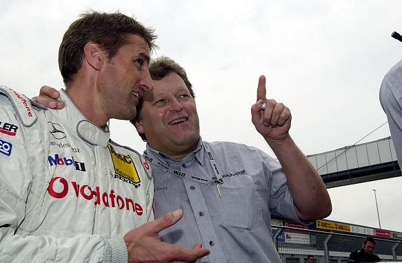 Bernd Schneider and Norbert Haug