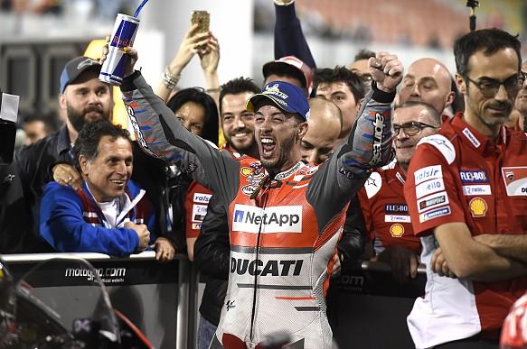 Andrea Dovizioso wins Qatar MotoGP 2018