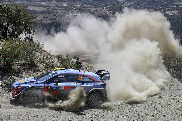 Andreas Mikkelsen Hyundai WRC Rally Mexico 2018