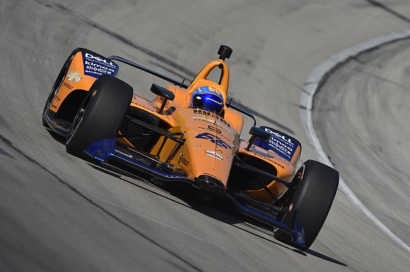 Alonso McLaren Texas IndyCar test 2019