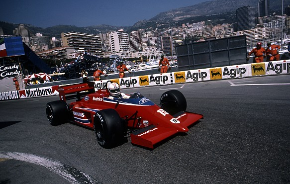 Alan Jones Monaco GP 1986