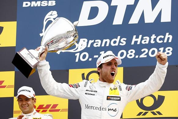 Daniel Juncadella Mercedes DTM Brands Hatch 2018