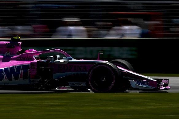 Esteban Ocon Force India Canadian Grand Prix 2018