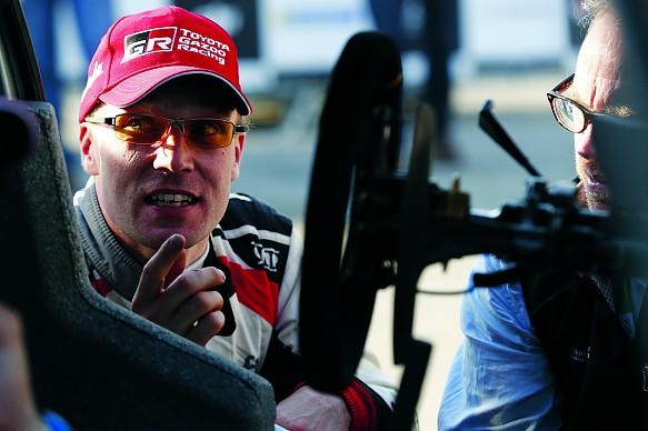 Jari-Matti Latvala David Evans Toyota Yaris WRC