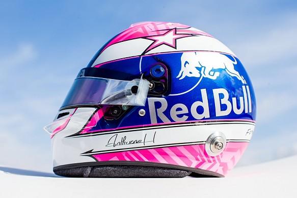Gasly Hubert tribute helmet
