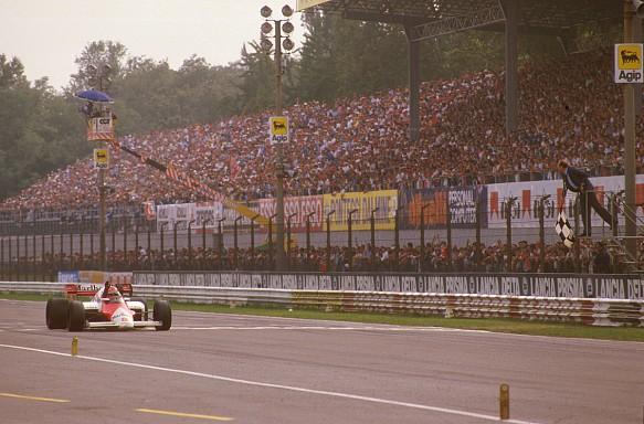 Niki Lauda wins 1984 Italian GP