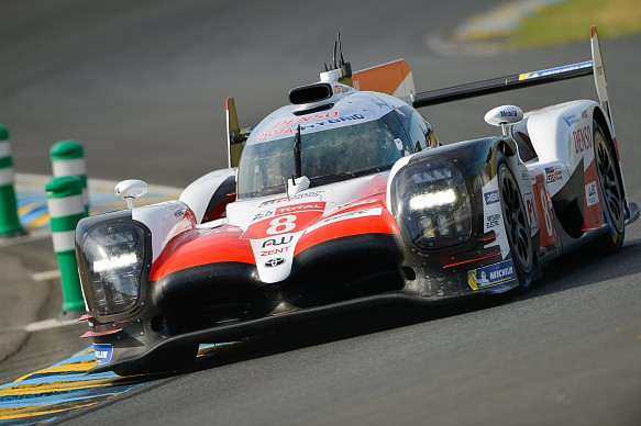 Toyota Le Mans 24 Hours test day 2018