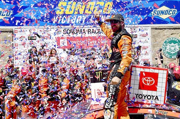 Martin Truex Jr Sonoma NASCAR 2019