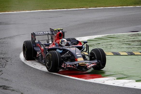Sebastian Vettel, 2008 Italian Grand Prix