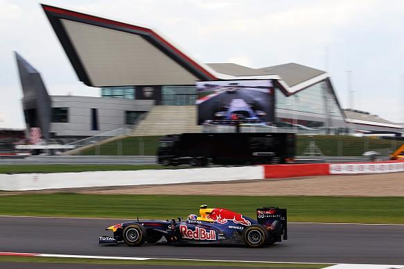 Mark Webber Silverstone 2011